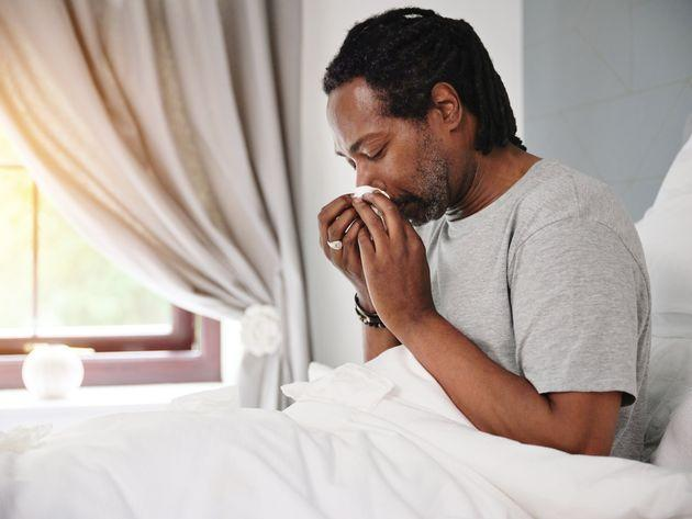 Runny noses are now a symptom of Covid (Photo: Dean Mitchell via Getty Images)