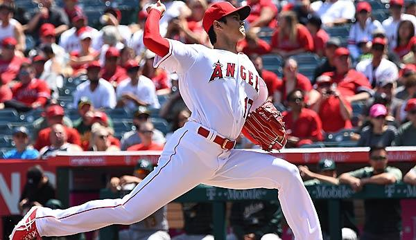 MLB: Angels: Shohei Ohtani dominiert A's bei beinahe Perfect Game