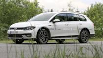 """<p>With a new generation of the Volkswagen Golf, there's naturally going to be a huge number of variants like the GTI, Golf R, and this Alltrack wagon. The sharper face looks good on the latest iteration.</p> <h3><a href=""""https://www.motor1.com/news/432862/2021-vw-golf-alltrack-spy-photos/"""" rel=""""nofollow noopener"""" target=""""_blank"""" data-ylk=""""slk:VW Golf Alltrack Spied For The First Time Looking Oh-So Predictable"""" class=""""link rapid-noclick-resp"""">VW Golf Alltrack Spied For The First Time Looking Oh-So Predictable</a></h3> <br><a href=""""https://www.motor1.com/news/431504/vw-golf-r-spy-shots/"""" rel=""""nofollow noopener"""" target=""""_blank"""" data-ylk=""""slk:Volkswagen Golf R Spied Looking Nearly Ready For A Debut"""" class=""""link rapid-noclick-resp"""">Volkswagen Golf R Spied Looking Nearly Ready For A Debut</a><br><a href=""""https://www.motor1.com/news/429452/2021-vw-golf-variant-spy/"""" rel=""""nofollow noopener"""" target=""""_blank"""" data-ylk=""""slk:2021 VW Golf Wagon Spied With Camo Only On Taillights"""" class=""""link rapid-noclick-resp"""">2021 VW Golf Wagon Spied With Camo Only On Taillights</a><br>"""