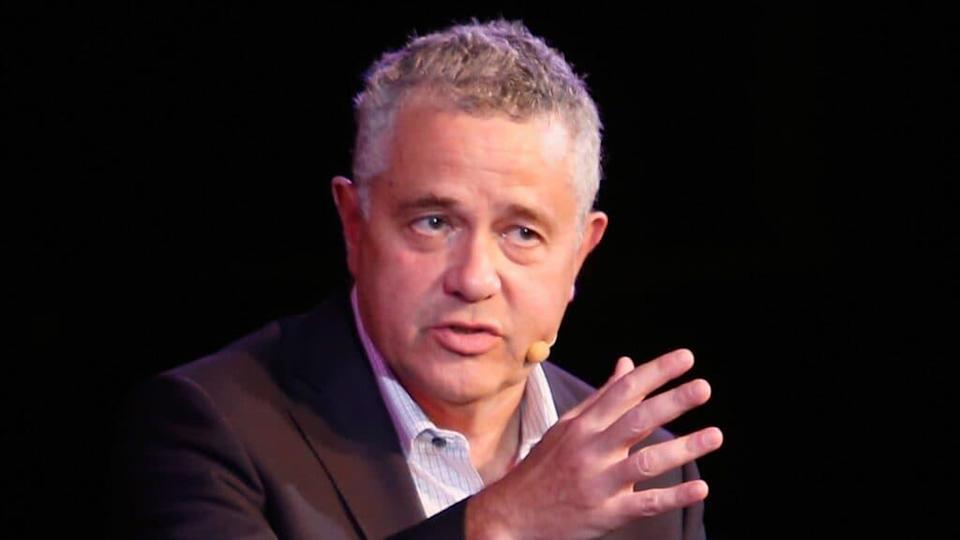 Jeffrey Toobin, shown in 2018, has been suspended from his job at The New Yorker and is taking a leave of absence from CNN after an embarrassing incident. (Photo by Thos Robinson/Getty Images for The New Yorker)