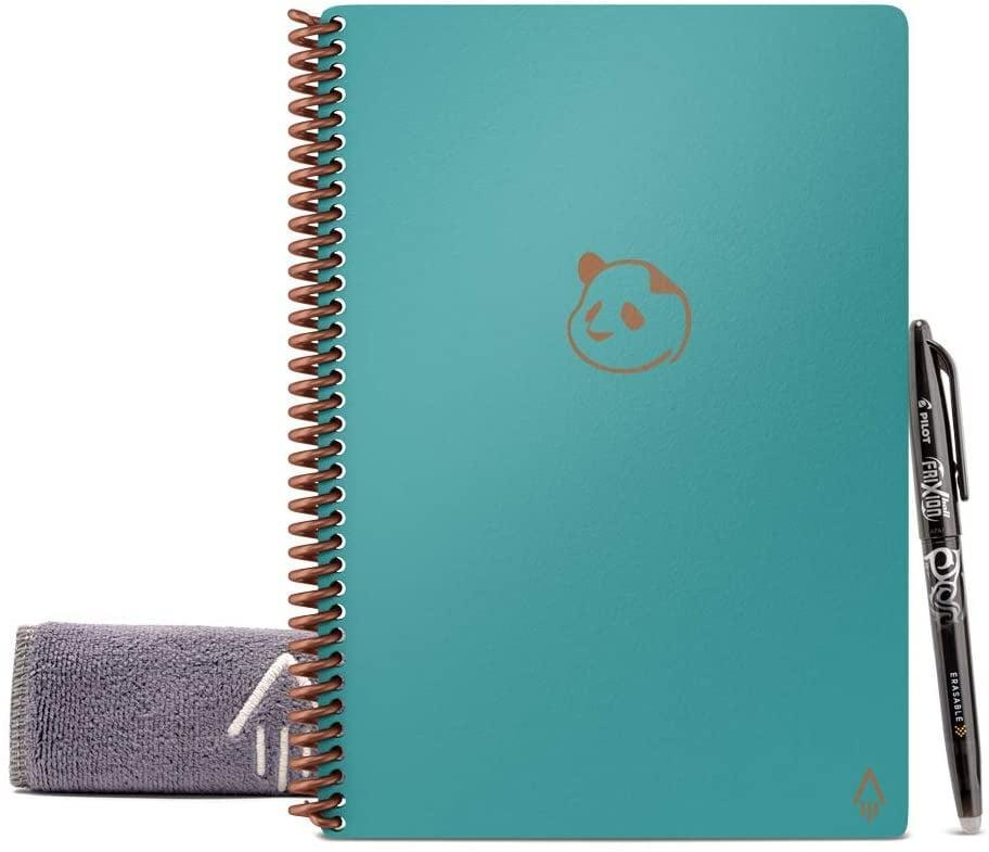 <p>This <span>Rocketbook Panda Planner</span> ($37) can be wiped clean with a damp cloth and can also be exported to Slack, email, Google Drive - you name it.</p>