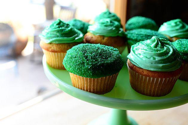 """<p>These green cupcakes were originally intended for St. Patrick's Day, but your guests will love seeing them at your annual Halloween party too. How fun would they look alongside your other colorful Halloween desserts?</p><p><strong><a href=""""https://thepioneerwoman.com/cooking/irish-hills-cupcakes/"""" rel=""""nofollow noopener"""" target=""""_blank"""" data-ylk=""""slk:Get the recipe"""" class=""""link rapid-noclick-resp"""">Get the recipe</a>.</strong></p><p><strong><a class=""""link rapid-noclick-resp"""" href=""""https://go.redirectingat.com?id=74968X1596630&url=https%3A%2F%2Fwww.walmart.com%2Fip%2FThe-Pioneer-Woman-5-Piece-Prep-Set-Measuring-Bowls-Cup%2F55467843&sref=https%3A%2F%2Fwww.thepioneerwoman.com%2Ffood-cooking%2Fmeals-menus%2Fg32110899%2Fbest-halloween-desserts%2F"""" rel=""""nofollow noopener"""" target=""""_blank"""" data-ylk=""""slk:SHOP MEASURING CUPS"""">SHOP MEASURING CUPS</a></strong></p>"""