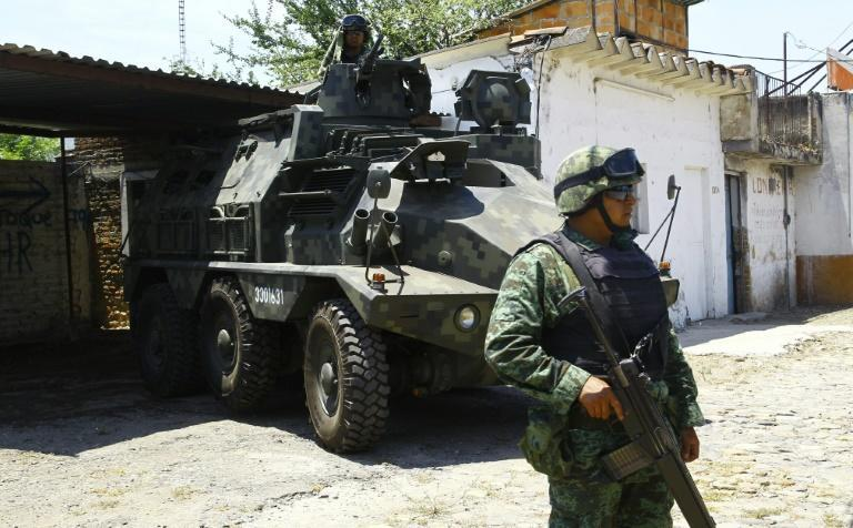 Mexico deployed the military in the war on drugs in 2006 but the move failed to rein in powerful cartels
