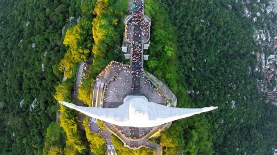 "<p>A view of Christ the Redeemer that tourists never get to see. <i>(Photo: </i><i><a href=""http://www.dronestagr.am/author/abusalem/"" title=""Posts by abusalem"">abusalem</a>/Dronestagram)</i></p>"