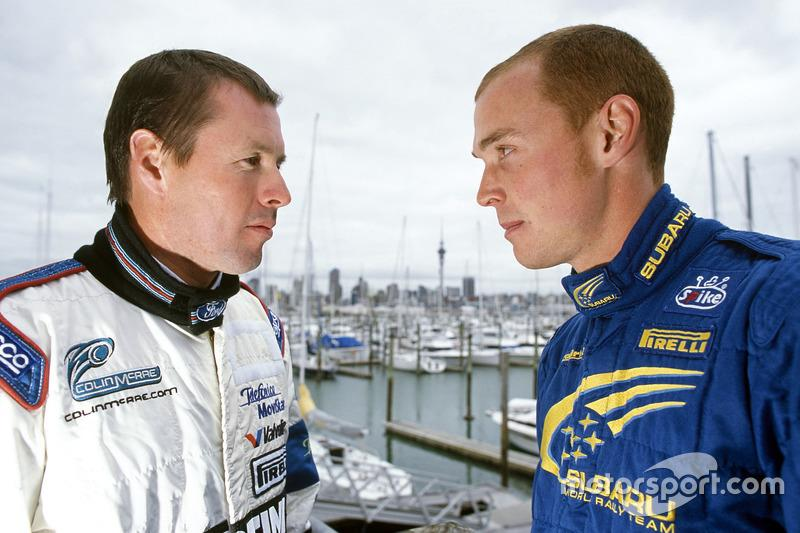 "Colin McRae and Richard Burns<span class=""copyright"">Motorsport Images</span>"