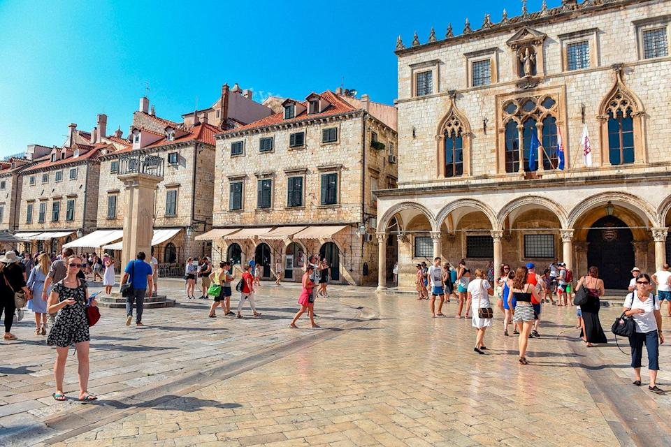 Croatia's historic coastal city of Dubrovnik is a popular draw for UK tourists  (FP via Getty Images)