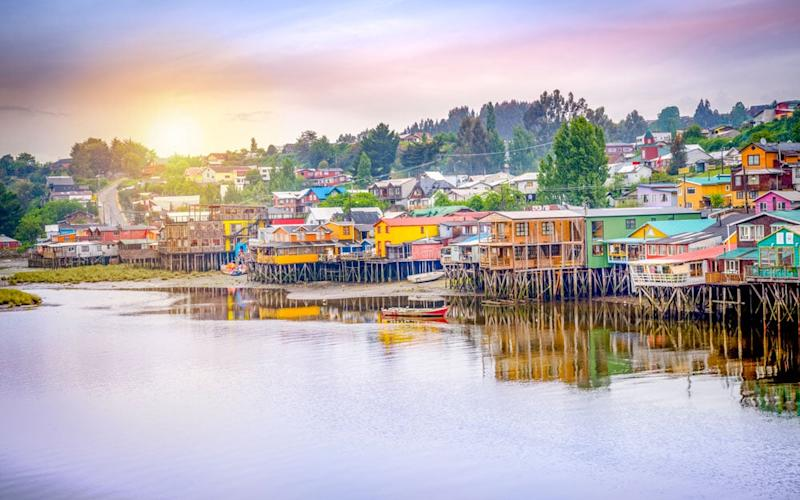 Castro is the largest settlement on Chiloé, an archipelago just south of the Chilean lake district