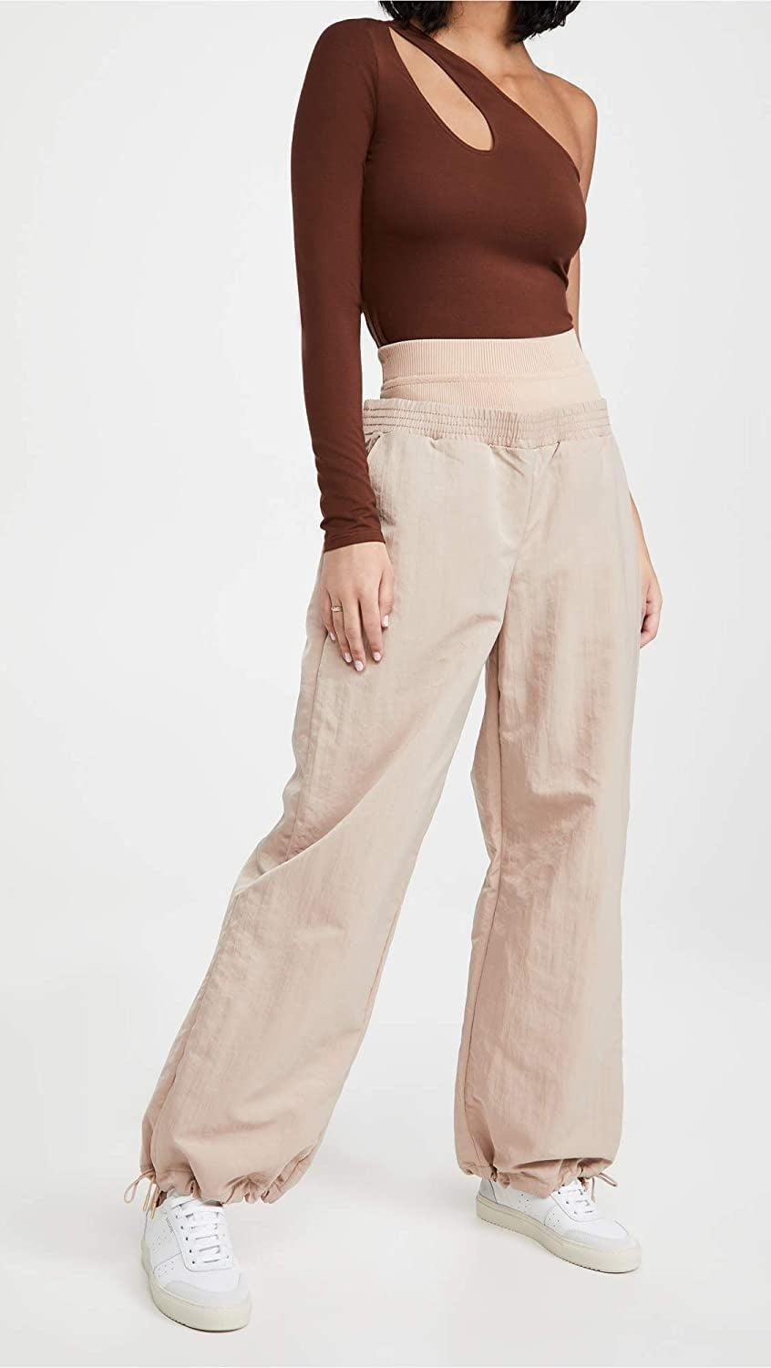 <p>Make a statement in these cool <span>Dion Lee Nylon Track Pants</span> ($590).</p>