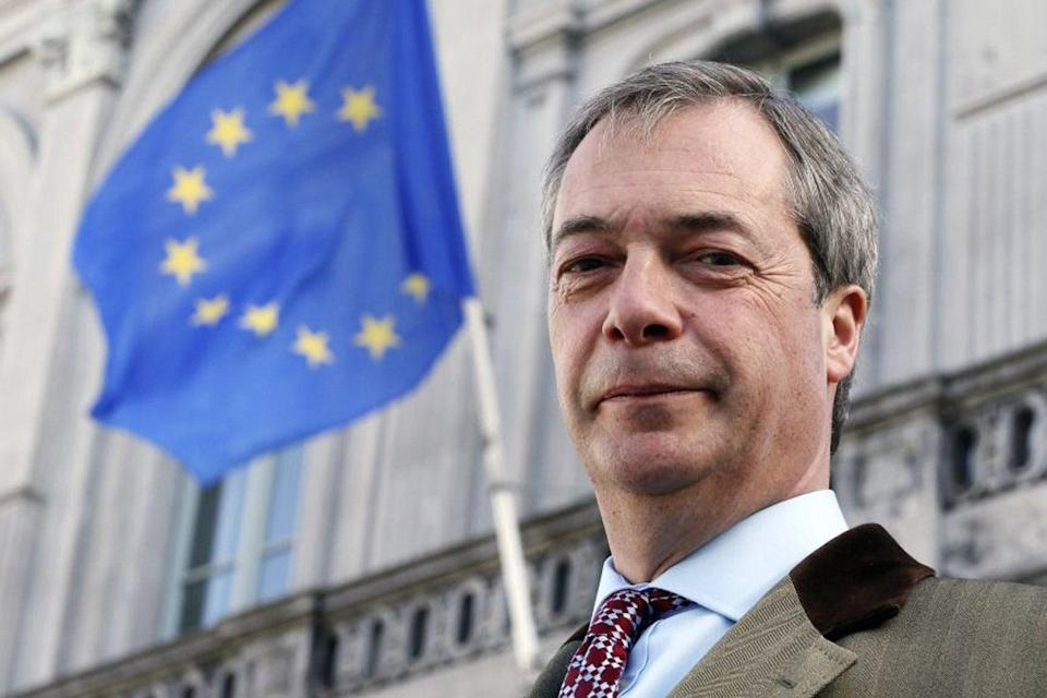 <p>Nigel Farage is being dragged online for his remarks</p> (Reuters)