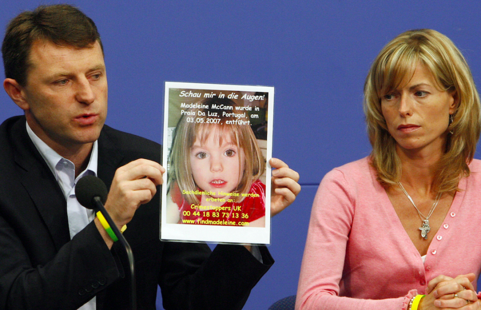 "<em>Gerry and Kate McCann criticised the documentary for potentially ""hindering"" the police operation (Getty)</em>"