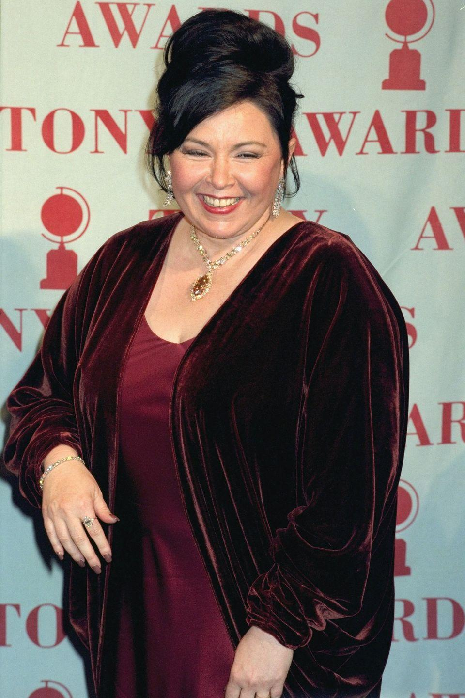 """<p>The sitcom star has always been honest about her weight through the years, including that she got gastric bypass surgery in 1998 after reaching <a href=""""https://people.com/bodies/10-celebrities-who-were-honest-about-having-weight-loss-surgery/?slide=5864524#5864524"""" rel=""""nofollow noopener"""" target=""""_blank"""" data-ylk=""""slk:350 pounds"""" class=""""link rapid-noclick-resp"""">350 pounds</a>.</p>"""