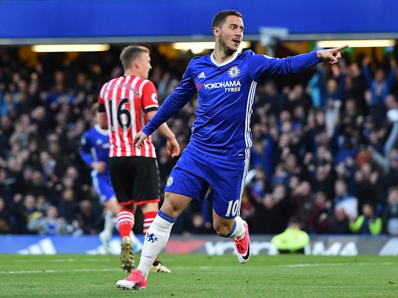 Hazard opened the scoring early on (Getty)