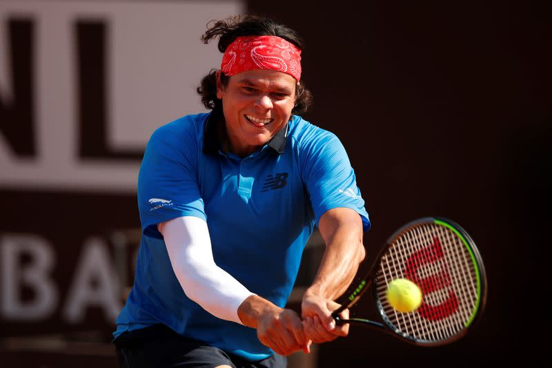 Raonic, Bencic pull out of French Open