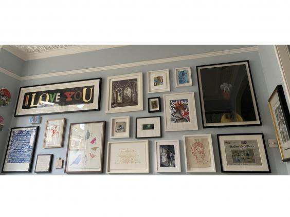 Kate Bryan's gallery wall