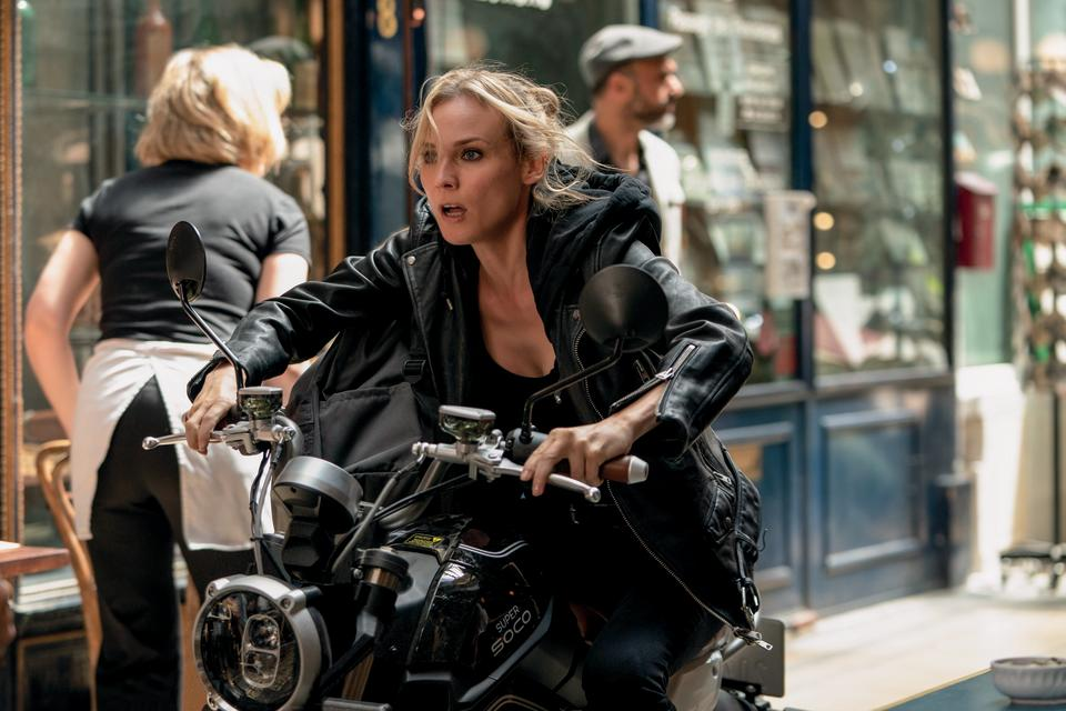 Diane Kruger as Marie in The 355, co-written and directed by Simon Kinberg. (Universal Pictures)