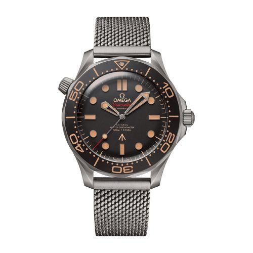 """<p><a class=""""link rapid-noclick-resp"""" href=""""https://www.omegawatches.com/en-gb/watch-omega-seamaster-diver-300m-co-axial-master-chronometer-42-mm-21090422001001?gclsrc=aw.ds&gclid=CjwKCAjwzOqKBhAWEiwArQGwaDo-vdOb0ynRXDzIAM6GPuHNEsQruUacr9nY4W5-KShsb8-r5Lh1LBoCpakQAvD_BwE"""" rel=""""nofollow noopener"""" target=""""_blank"""" data-ylk=""""slk:SHOP"""">SHOP</a></p><p>With an especially eye-popping cameo, the latest Bond-Omega is arguably the most handsome yet. The titanium dive watch is water resistant to 300M (hence the name), and the movement within is chronometer-certified, so it will never have you running late. </p><p><a href=""""https://www.omegawatches.com/en-gb/watch-omega-seamaster-diver-300m-co-axial-master-chronometer-42-mm-21090422001001?gclsrc=aw.ds&gclid=CjwKCAjwzOqKBhAWEiwArQGwaDo-vdOb0ynRXDzIAM6GPuHNEsQruUacr9nY4W5-KShsb8-r5Lh1LBoCpakQAvD_BwE"""" rel=""""nofollow noopener"""" target=""""_blank"""" data-ylk=""""slk:omega.com"""" class=""""link rapid-noclick-resp"""">omega.com</a>, £7880</p>"""