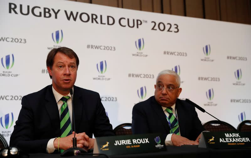 FILE PHOTO: Rugby World Cup 2023 Host Country Announcement