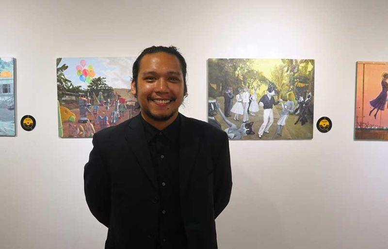 The art of Jopson, Pongase at Qube