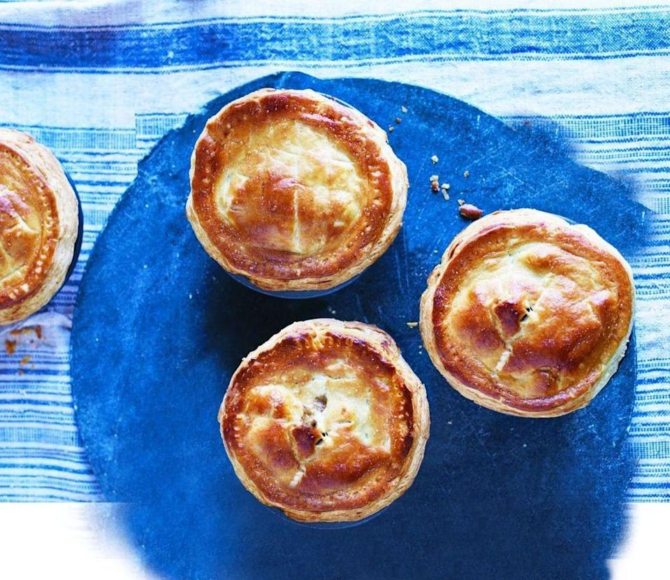 """<p>Not only do these scrumptious pies incorporate Guinness and beef, it also has a surprising secret ingredient: Chocolate!</p><p><em><a href=""""https://www.womansday.com/food-recipes/food-drinks/recipes/a53667/beef-and-guinness-pies/"""" rel=""""nofollow noopener"""" target=""""_blank"""" data-ylk=""""slk:Get the recipe from Woman's Day »"""" class=""""link rapid-noclick-resp"""">Get the recipe from Woman's Day »</a></em> </p>"""
