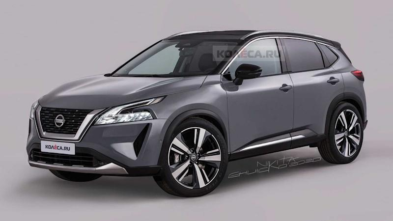 Next-Gen Nissan Rogue Sport Renderings