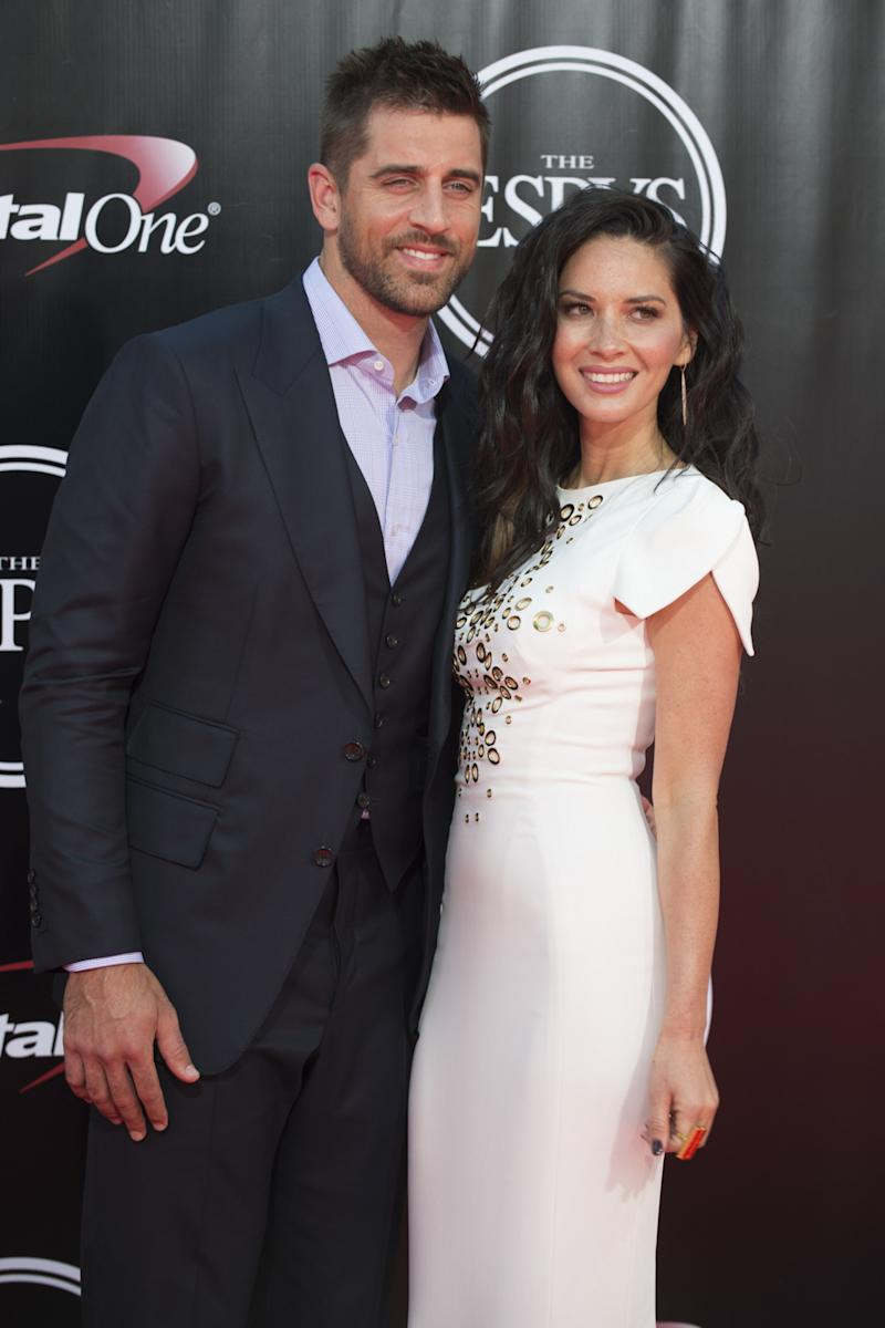 Things Are Reportedly Going Well for Olivia Munn and Aaron Rodgers After Their Split