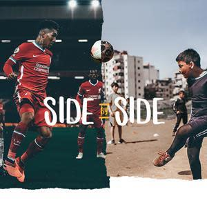 The LFC Foundation and Right To Play are working Side by Side to transform the lives of children around the world.