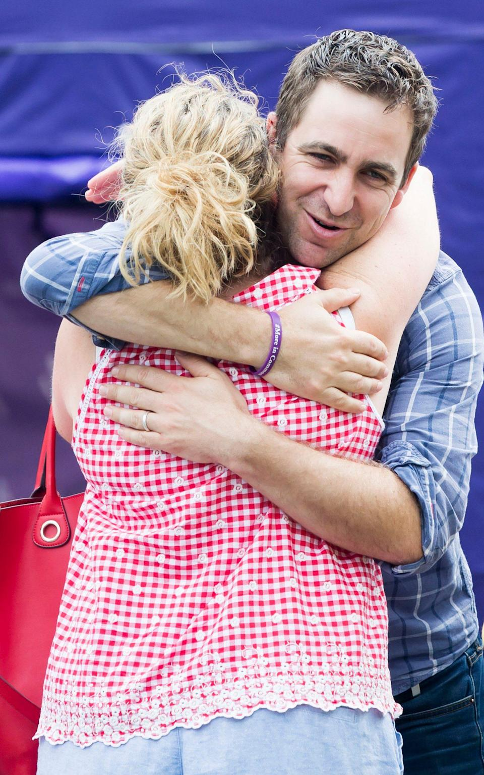 Brendan Cox, husband of murdered MP Jo Cox, attends a Great Get Together - Credit: PA