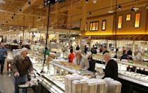 <p>One thing that makes Wegmans stand out is their prepared food section, which frequent shoppers swear by. Wegmans stores offer everything from sandwiches to pizza, burgers to fresh bakery items. There are buffets so you can grab lunch or dinner there, and some stores even have restaurant setups. They have everything you can think of, and the prices and quality are worth raving about. </p>