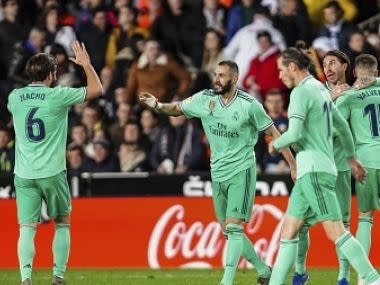 LaLiga: Real Madrid's Karim Benzema scores late goal to salvage point against Valencia; Villarreal beat Sevilla