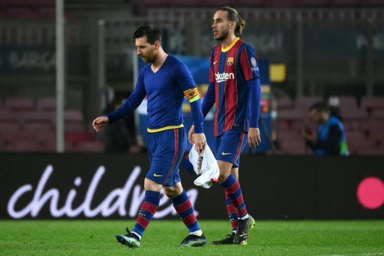 It was a chastening night for Messi and Barcelona