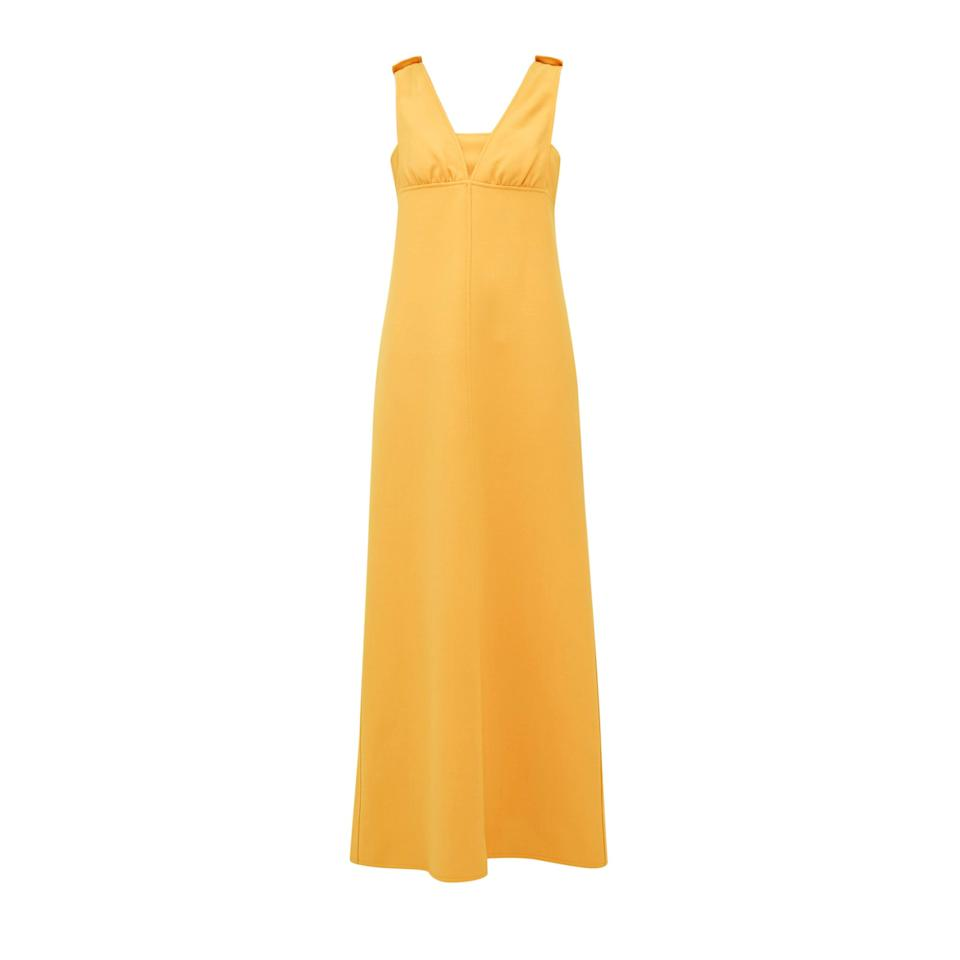 """<p>This London based boutique was founded in 2009 and has appointed Marie Blanchet as their new CEO. William Vintage is known for their extensive selection of one-of-a-kind haute couture pieces.</p> <p><strong>Buy now:</strong> Courrèges, 1969 maxi dress, $2,046, <a href=""""https://www.matchesfashion.com/us/products/William-Vintage-Courr%C3%A8ges-1969-wool-blend-crepe-maxi-dress-1342056"""">matchesfashion.com</a>.</p>"""
