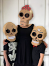 """<p>This stunning project, which comes with a template, can be adjusted to make Halloween skulls with cracked eye sockets, Day of the Dead skulls, or whatever you can dream up!</p><p><strong>Get the tutorial at <a href=""""https://www.zygotebrowndesigns.com/post/2019/10/16/diy-cardboard-skull"""" rel=""""nofollow noopener"""" target=""""_blank"""" data-ylk=""""slk:Zygote Brown Designs"""" class=""""link rapid-noclick-resp"""">Zygote Brown Designs</a>.</strong></p><p><a class=""""link rapid-noclick-resp"""" href=""""https://www.amazon.com/corrugated-cardboard-roll/s?k=corrugated+cardboard+roll&tag=syn-yahoo-20&ascsubtag=%5Bartid%7C10050.g.3480%5Bsrc%7Cyahoo-us"""" rel=""""nofollow noopener"""" target=""""_blank"""" data-ylk=""""slk:SHOP SINGLE WALLED CARDBOARD"""">SHOP SINGLE WALLED CARDBOARD</a><br></p>"""