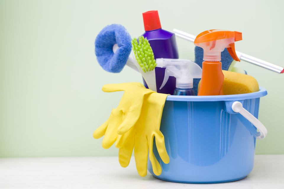 Is it safe to use toilet cleaner on tile grout? (Getty Images)