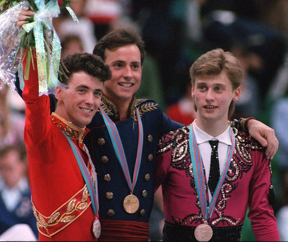 <p>Viewers were captivated by the competition between figure skaters Brian Boitano and Brian Orser throughout the Calgary games. In the end, American skater Boitano was dubbed the gold medalist, while Orser took silver back to Canada. </p>