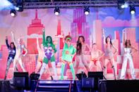 <p>Drag superstars Kameron Michaels, Aquaria, Violet Chachki, Asia O'Hara, Naomi Smalls, Plastique Tiara and Bianca Del Rio performed on stage at Voss Events Presents Drive 'N Drag at the Rose Bowl in Pasadena, California.</p>