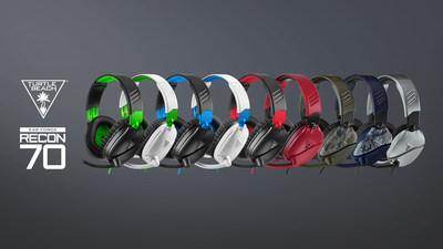 The Turtle Beach Recon 70. The #1 selling wired console gaming headset takes entry-level gaming to a higher level.