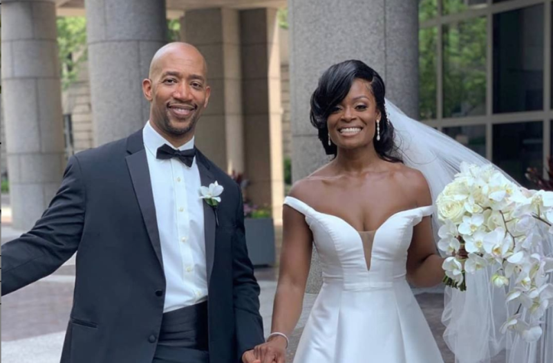 Newlyweds Dr. Kerry Anne and Michael Gordon