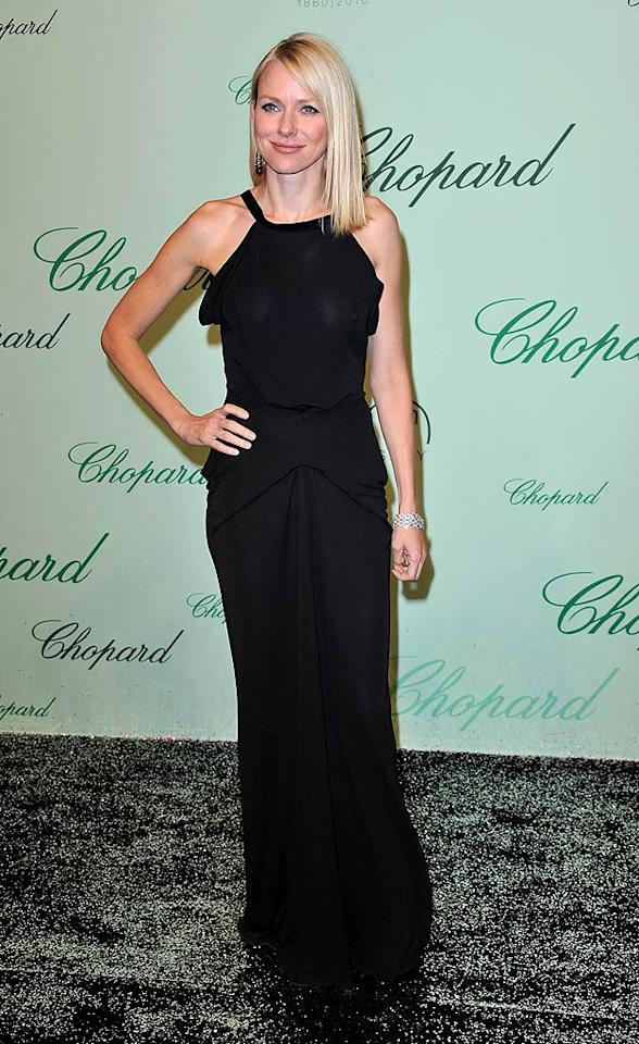 "Naomi Watts, who will play Marilyn Monroe in an upcoming bio-pic, opted for an elegant black RM by Roland Mouret dress and super simple hair and makeup. Beautiful or boring? Pascal Le Segretain/<a href=""http://www.gettyimages.com/"" target=""new"">GettyImages.com</a> - May 17, 2010"