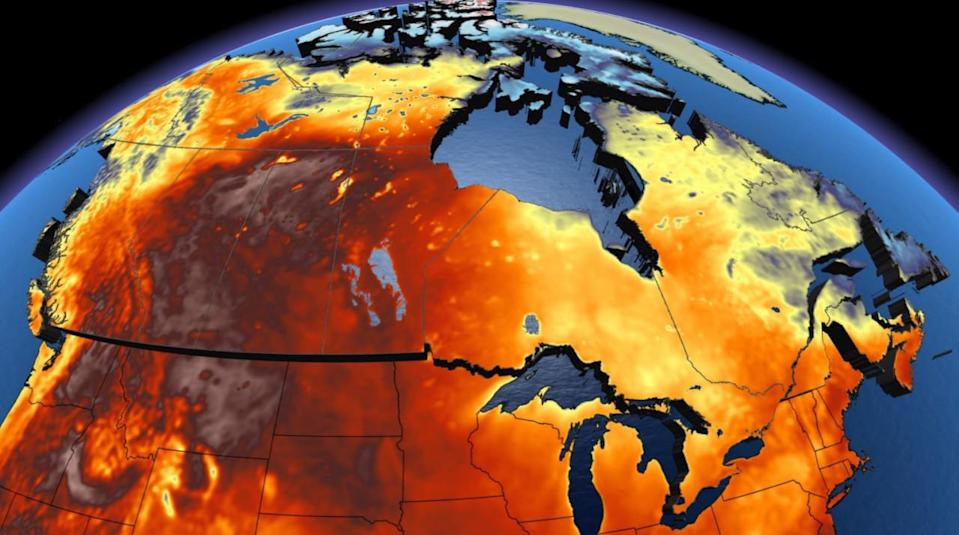 Historic heat vs. autumnal weather for Canada Day