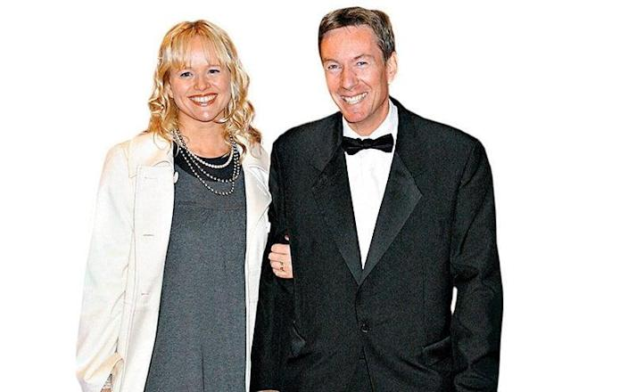 Gardner at an award ceremony with his ex-wife Amanda Pearson in 2007 - Rex