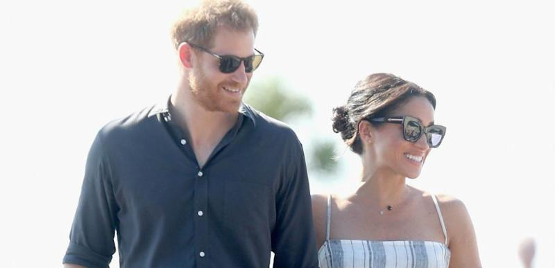 4fa415309fc Meghan Markle Wore This Sweet Wedding Gift From Prince Charles During Visit  To Fiji