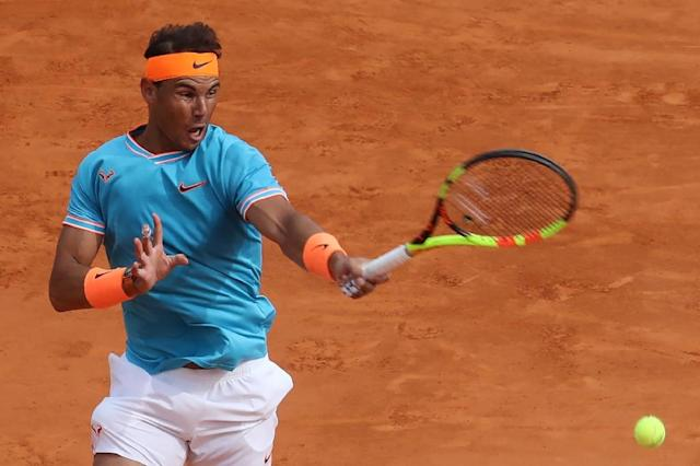 Nadal crashes out to Fognini (AFP Photo/VALERY HACHE)
