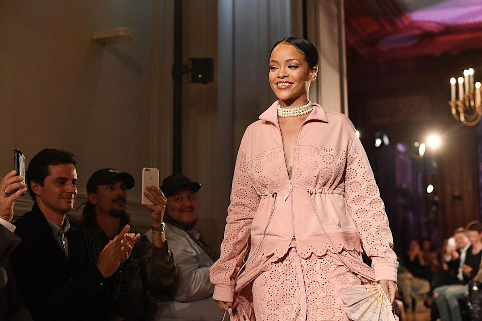 Rihanna has well and truly won over the hearts of the fashion crowd [Photo: Getty]