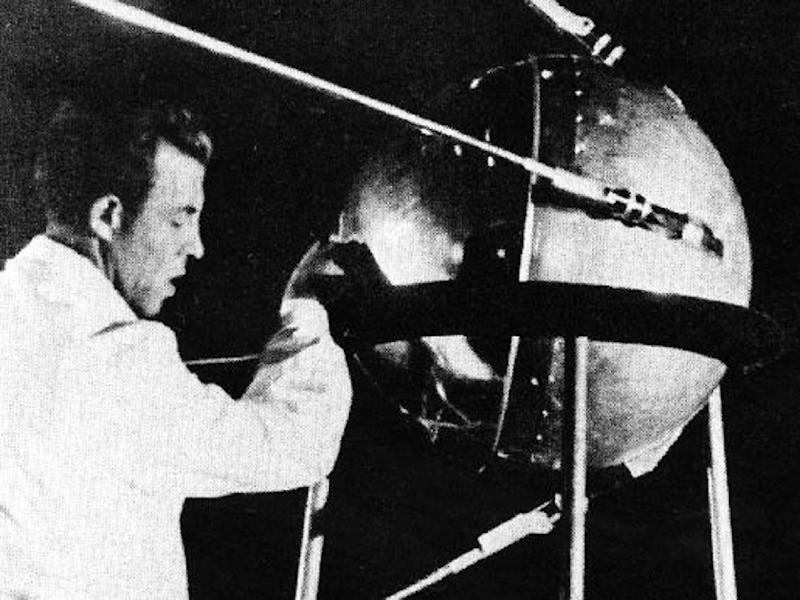 Sputnik was in orbit for 92 days, making 1,440 circles around Earth, before losing speed and burning up in the atmosphere (AFP Photo/HO)