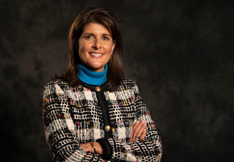 """Former UN ambassador Nikki Haley has a new book, """"With All Due Respect,"""" being published Nov. 12."""
