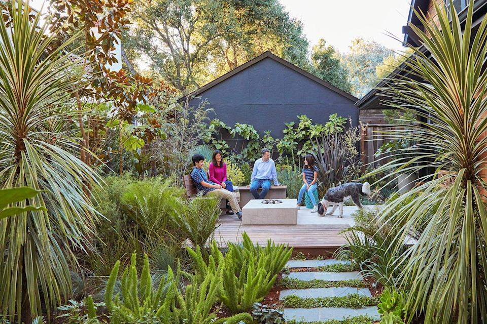 This Family's Lush Landscape Is Full of Small Space Edible Gardening Ideas