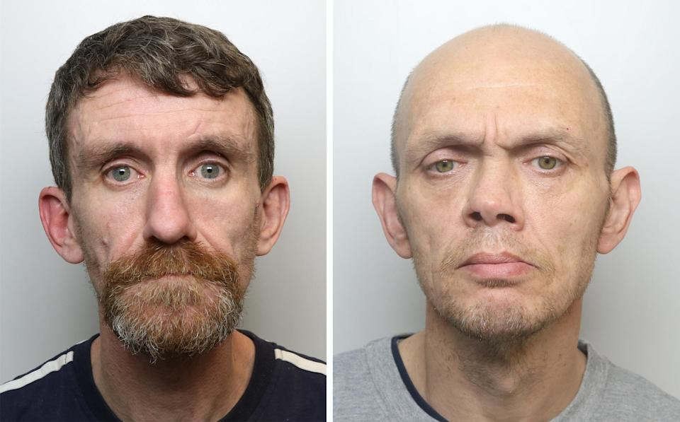 Craig Stanton (left) and Alexander Mackay who have been jailed for life at Leeds Crown Court. (PA/West Yorkshire police)