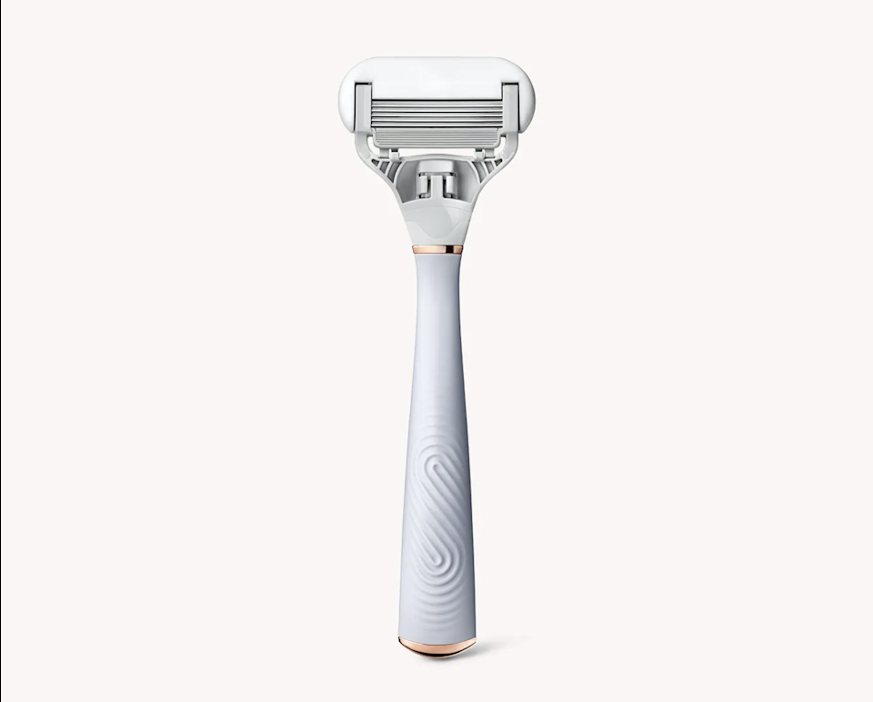 """""""Using new razors always comes with amazing results but also slight pain, as I always manage to cut myself with the super-sharp blades,"""" says <em>Allure</em> editorial assistant Gabi Thorne. """"But the Flamingo razor gave me the smoothness I love without any of the pain. One of the best and easiest shaves I have had in a while."""""""