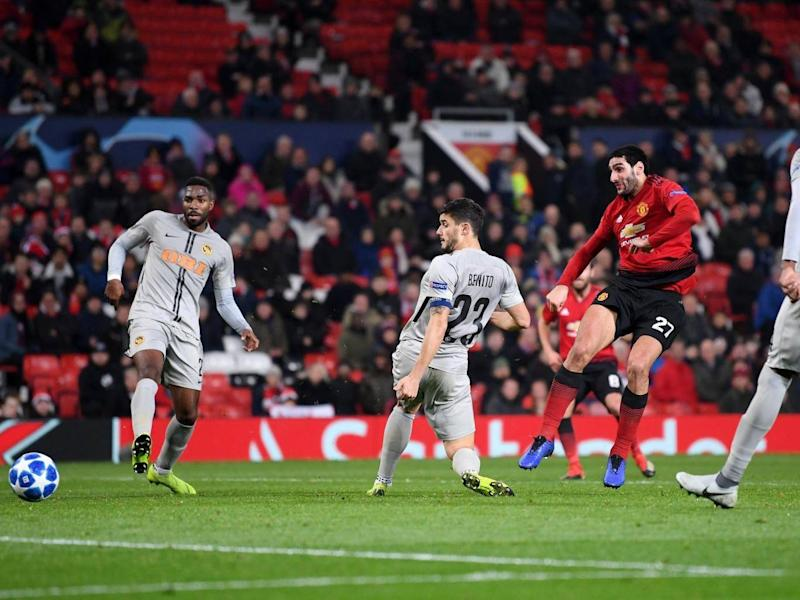 Fellaini's late goal ended Valencia's hopes (Getty Images)