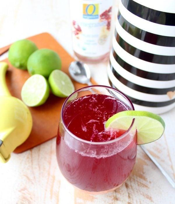 """<p>Sparkling pomegranate soda replaces the traditional cranberry juice in this bubbly twist on a cosmo cocktail. Topped off with Champagne, this flirty drink is about as good as it gets.</p> <p><strong>Get the recipe</strong>: <a href=""""https://www.popsugar.com/buy?url=https%3A%2F%2Fwhitneybond.com%2Fsparkling-pomegranate-cosmopolitan%2F&p_name=cosmopolitan&retailer=whitneybond.com&evar1=yum%3Aus&evar9=47471653&evar98=https%3A%2F%2Fwww.popsugar.com%2Ffood%2Fphoto-gallery%2F47471653%2Fimage%2F47475201%2FVermont-Cosmopolitan&list1=cocktails%2Cdrinks%2Calcohol%2Crecipes&prop13=api&pdata=1"""" class=""""link rapid-noclick-resp"""" rel=""""nofollow noopener"""" target=""""_blank"""" data-ylk=""""slk:cosmopolitan"""">cosmopolitan</a></p>"""